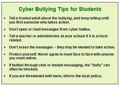 Cyber Bullying Tips from the Anti-Bully Blog