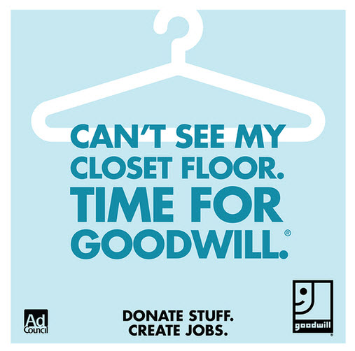 Goodwill, Donate Stuff. Create Jobs.