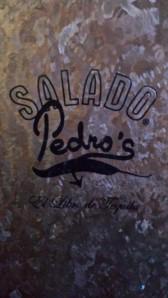 Salado Pedros Menu